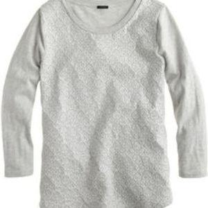 Jcrew embroidered sweatshirt